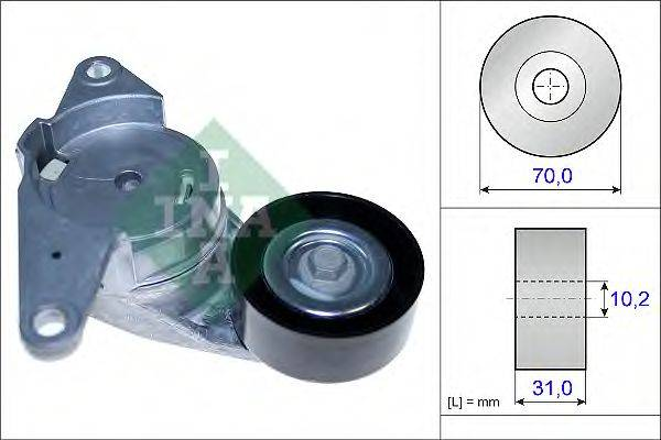 INA 534044110 Натяжная планка, поликлиновой ремень