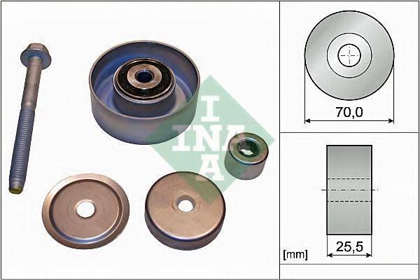 INA 532066510 Паразитный / ведущий ролик, поликлиновой ремень
