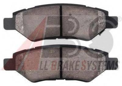 A.B.S. 38428 Комплект тормозных колодок, дисковый тормоз